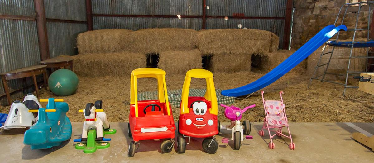 Activity Barn on site